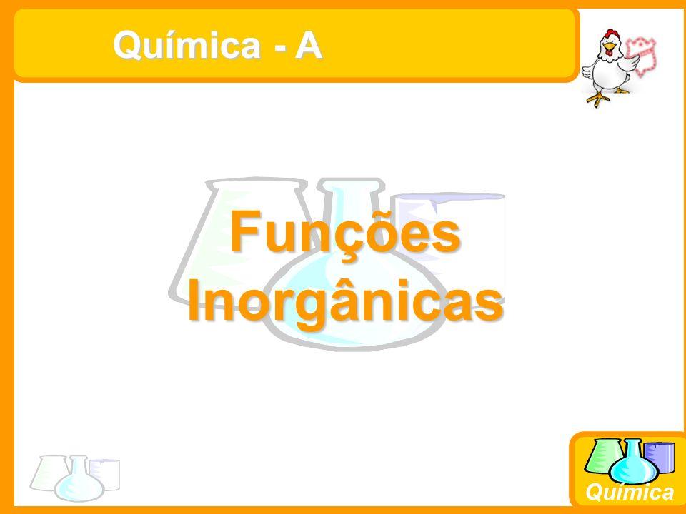 Química - A Funções Inorgânicas