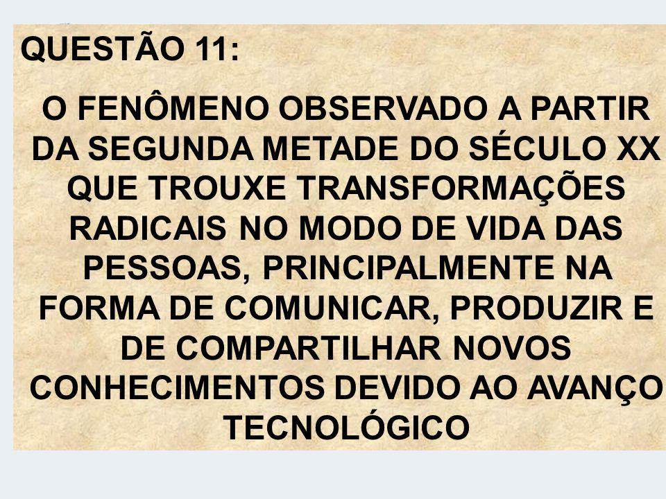 QUESTÃO 11: