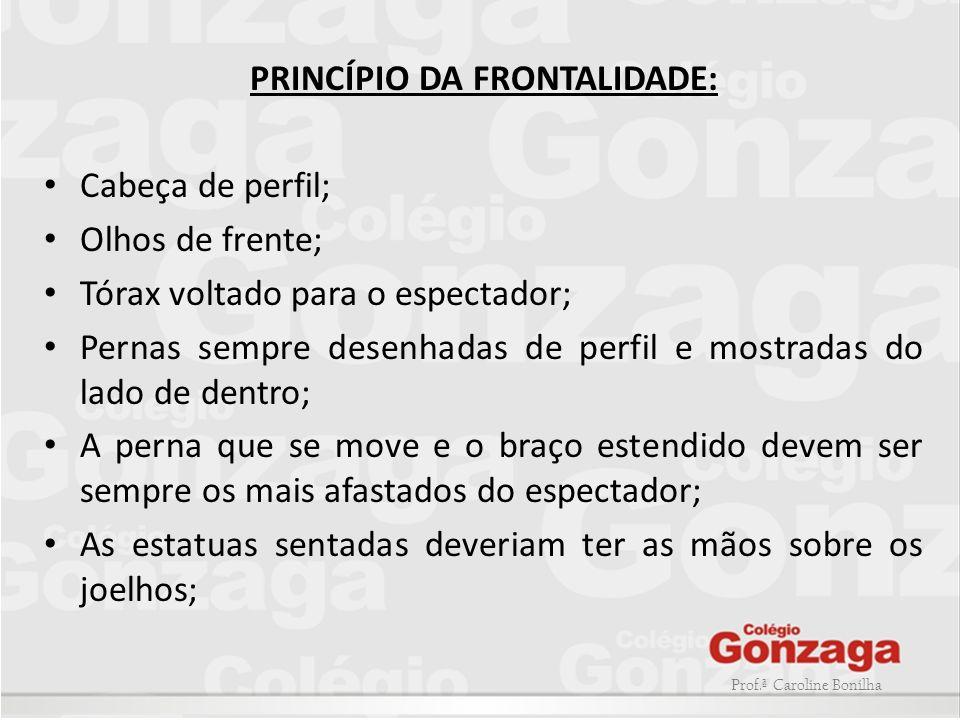 PRINCÍPIO DA FRONTALIDADE: