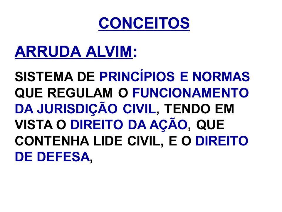 ARRUDA ALVIM: CONCEITOS