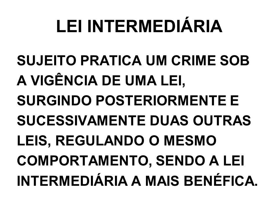 LEI INTERMEDIÁRIA