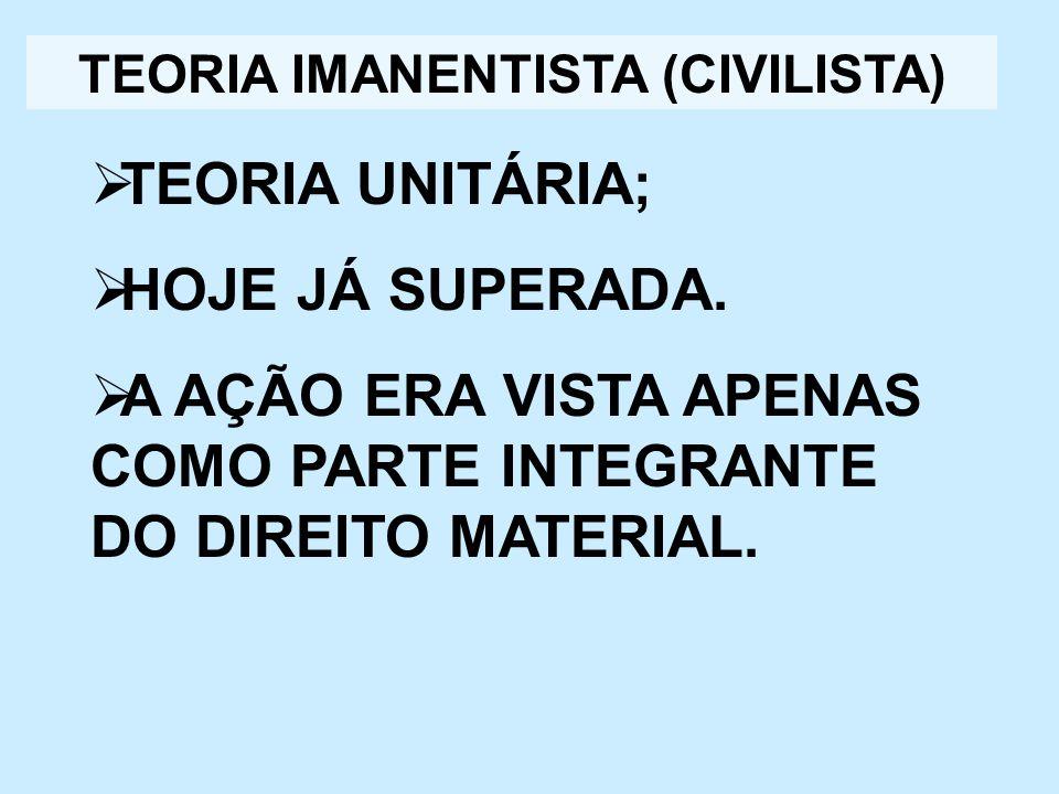 TEORIA IMANENTISTA (CIVILISTA)