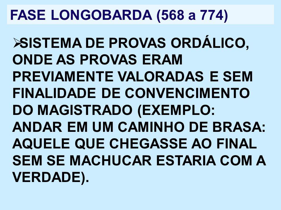 FASE LONGOBARDA (568 a 774)