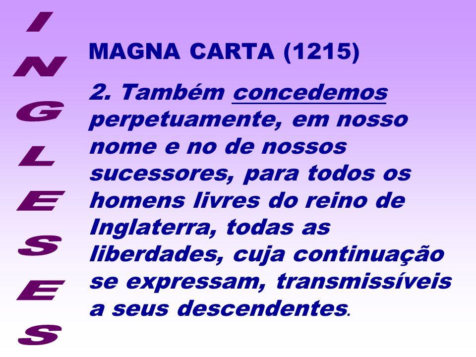 MAGNA CARTA (1215)