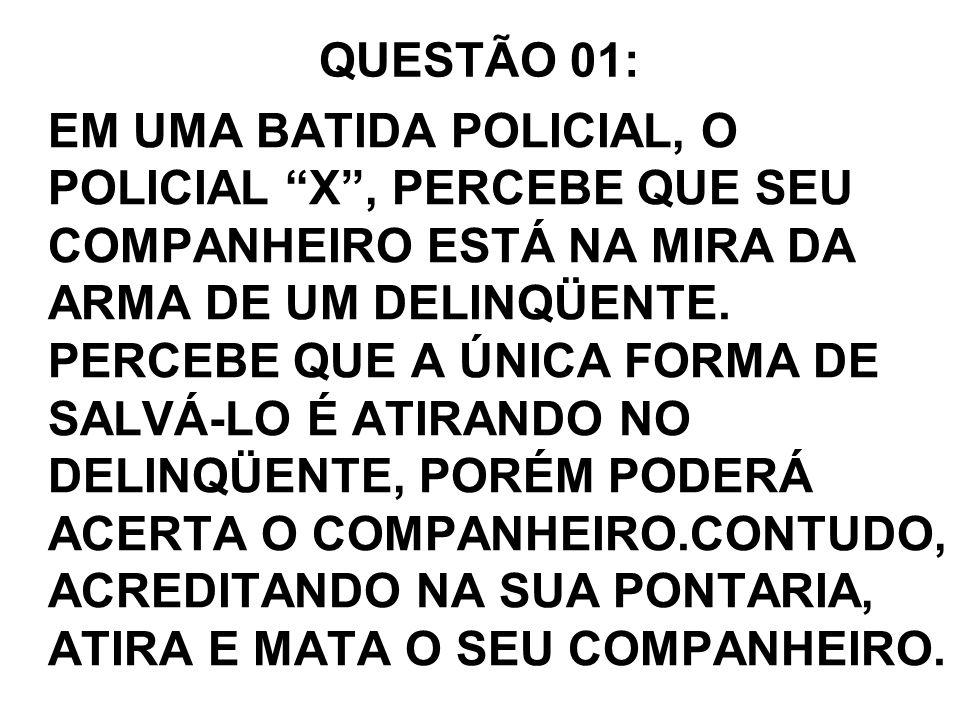 QUESTÃO 01: