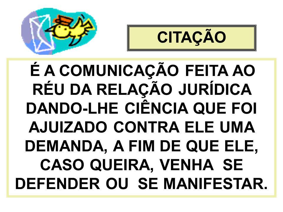 CITAÇÃO