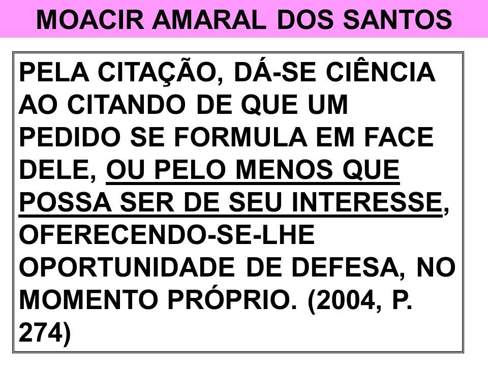 MOACIR AMARAL DOS SANTOS