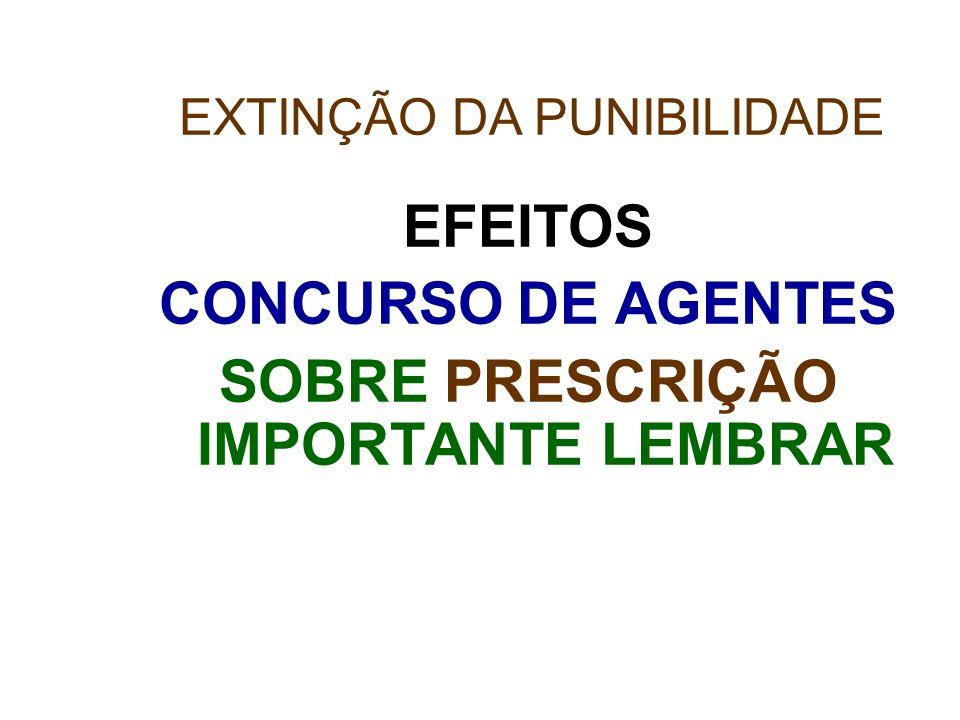 SOBRE PRESCRIÇÃO IMPORTANTE LEMBRAR