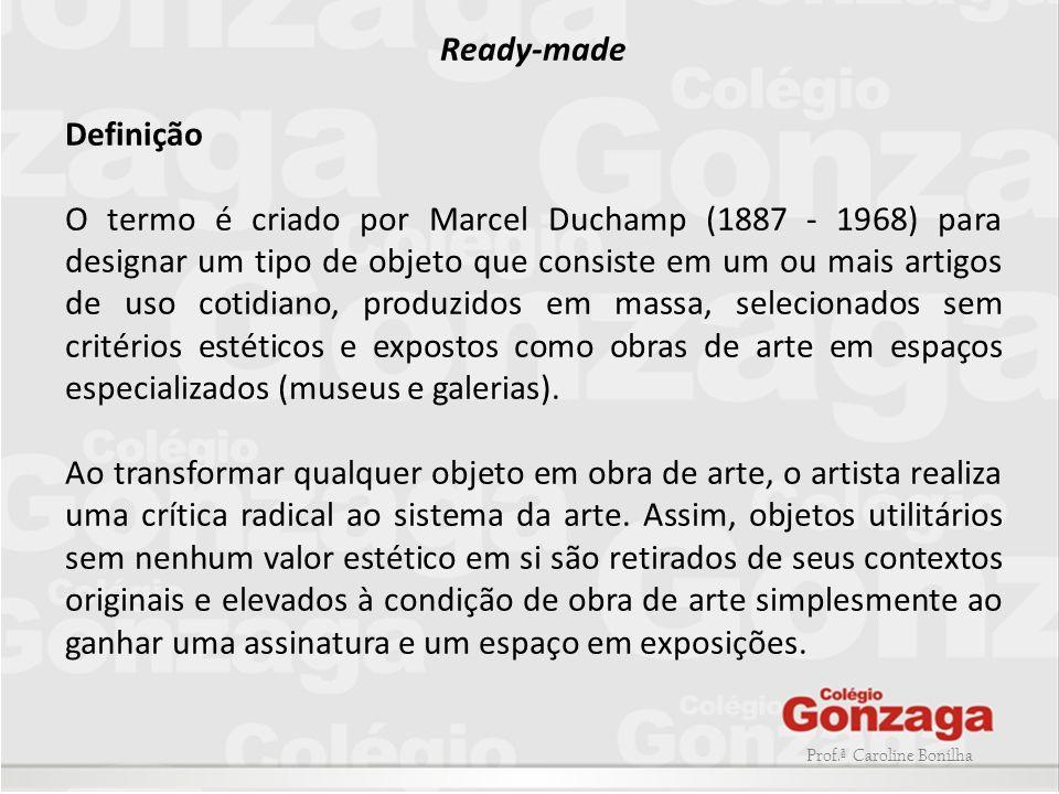 Ready-made Definição.