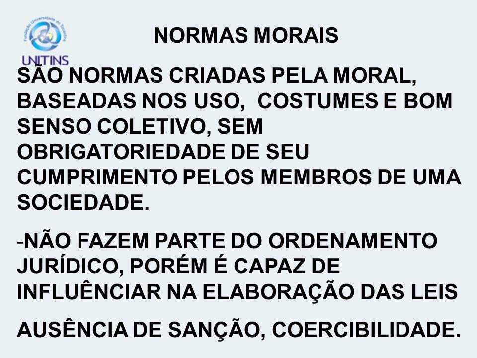 NORMAS MORAIS