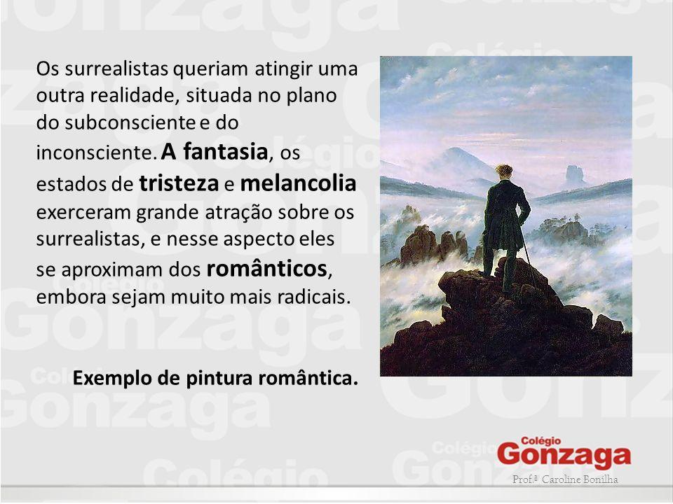 Exemplo de pintura romântica.