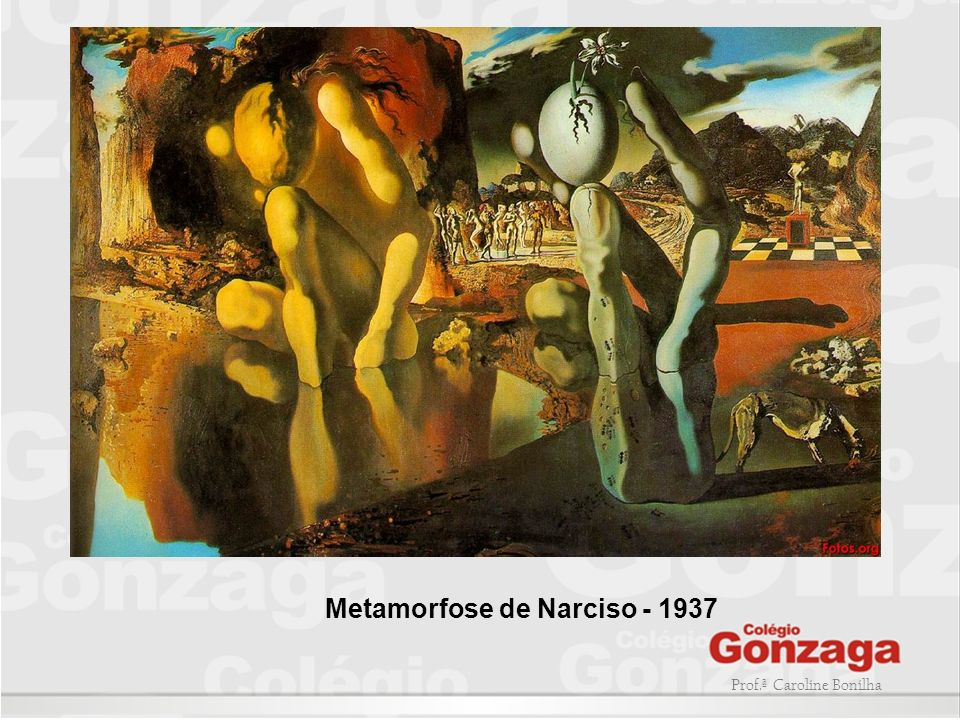 Metamorfose de Narciso - 1937