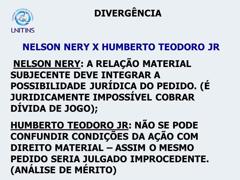 NELSON NERY X HUMBERTO TEODORO JR