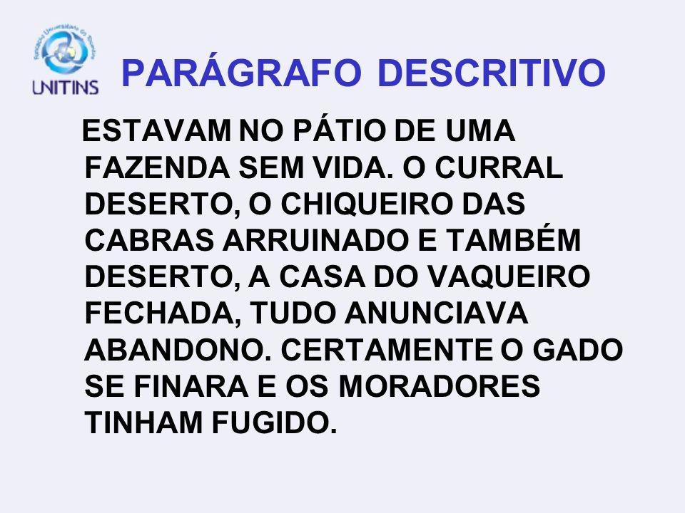 PARÁGRAFO DESCRITIVO