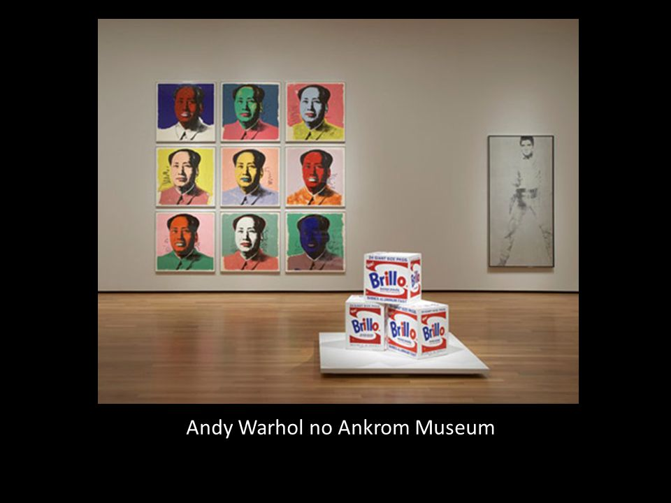 Andy Warhol no Ankrom Museum