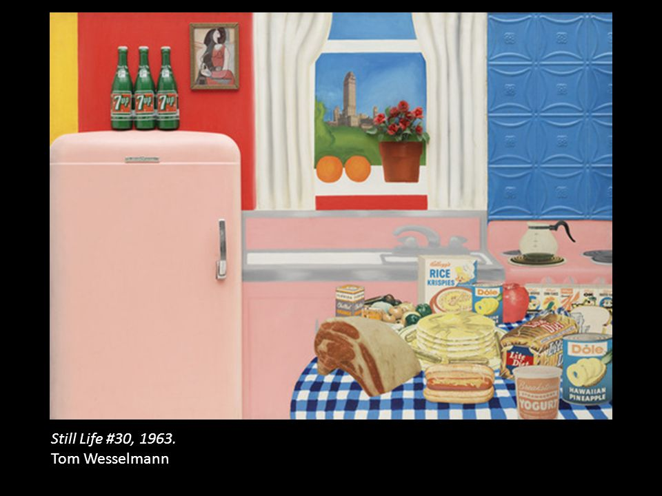 Still Life #30, 1963. Tom Wesselmann