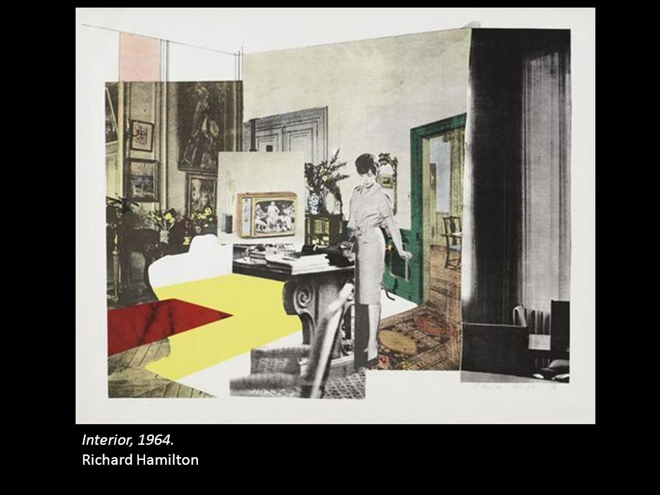 Interior, 1964. Richard Hamilton