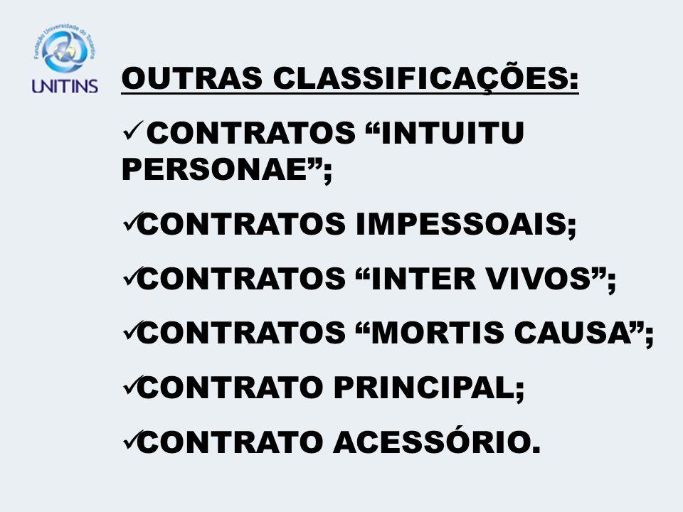 OUTRAS CLASSIFICAÇÕES: