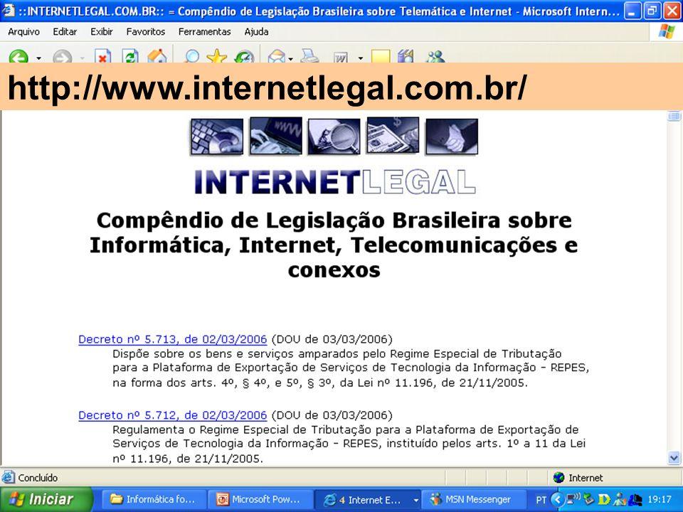 http://www.internetlegal.com.br/