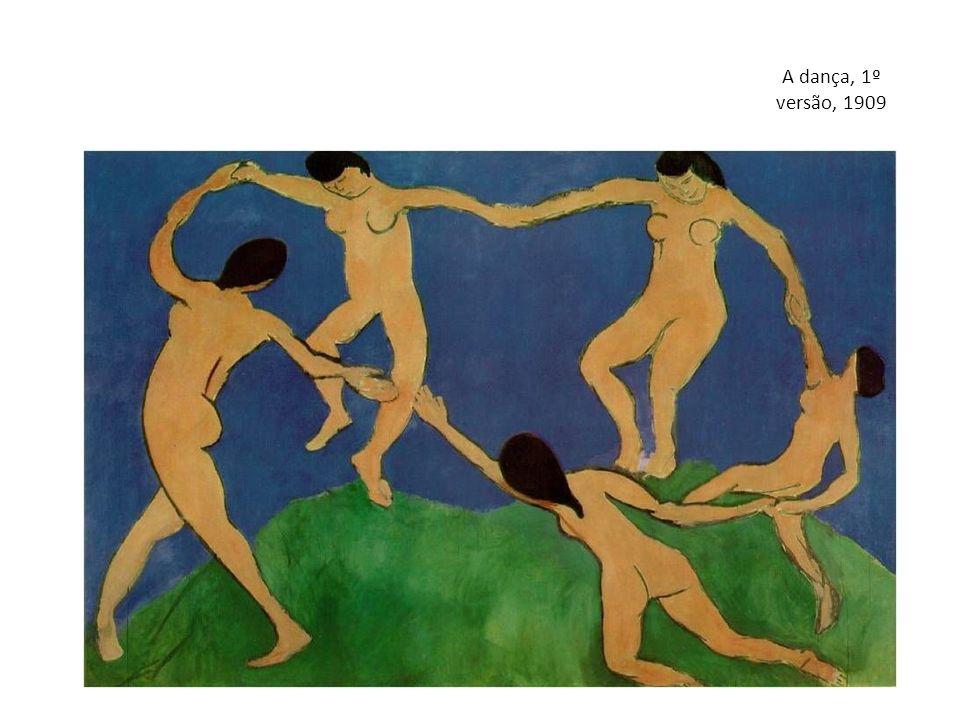 A dança, 1º versão, 1909