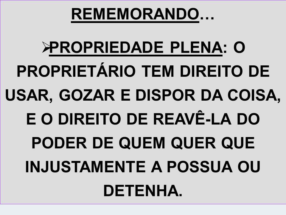 REMEMORANDO…