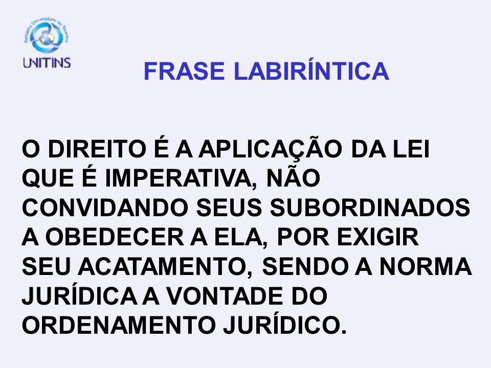FRASE LABIRÍNTICA
