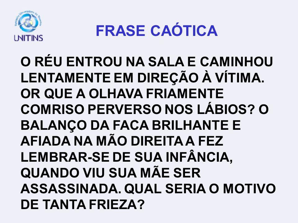 FRASE CAÓTICA