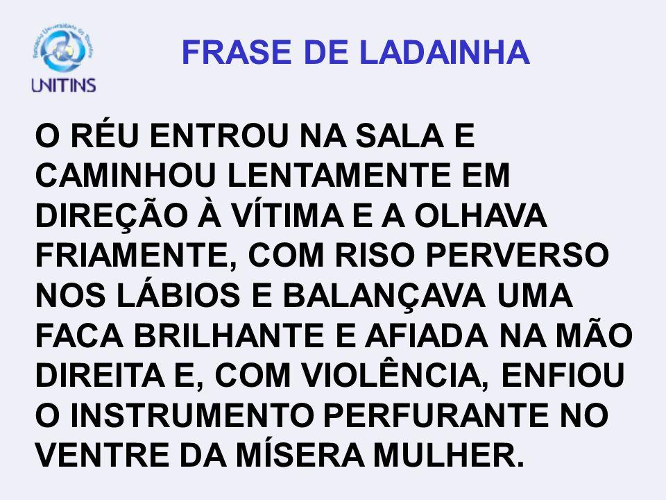 FRASE DE LADAINHA
