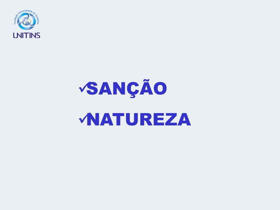 SANÇÃO NATUREZA