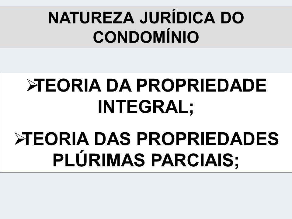 TEORIA DA PROPRIEDADE INTEGRAL;