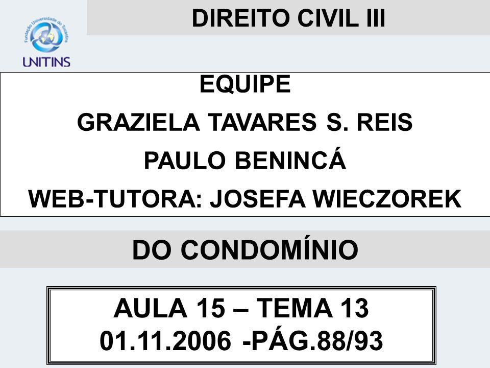 GRAZIELA TAVARES S. REIS WEB-TUTORA: JOSEFA WIECZOREK