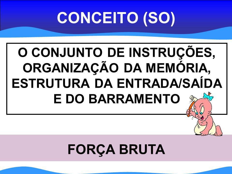 CONCEITO (SO) FORÇA BRUTA