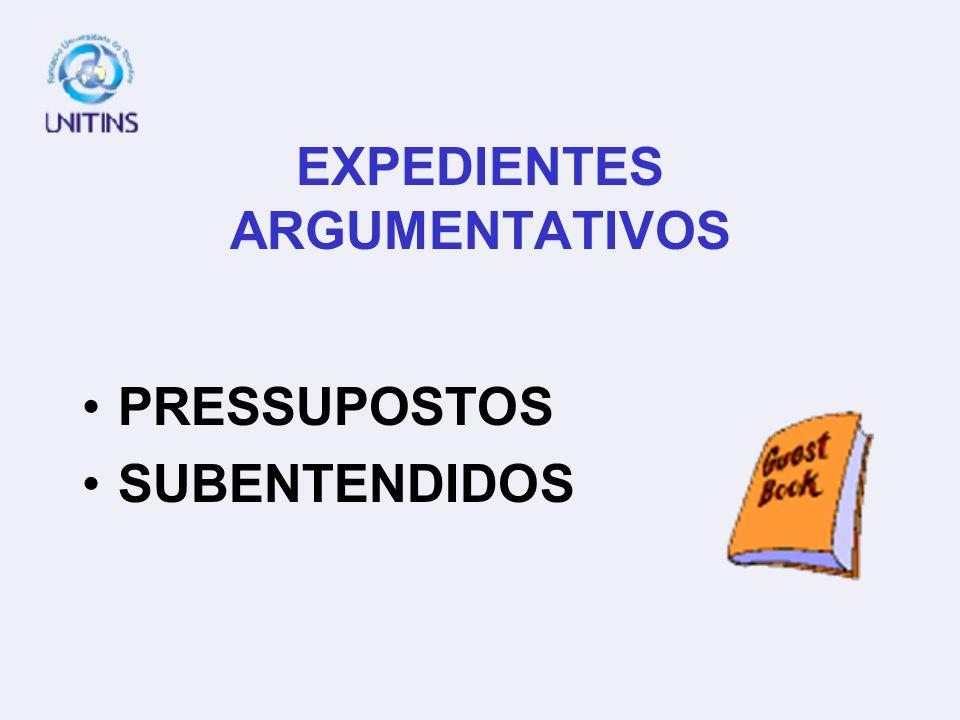 EXPEDIENTES ARGUMENTATIVOS