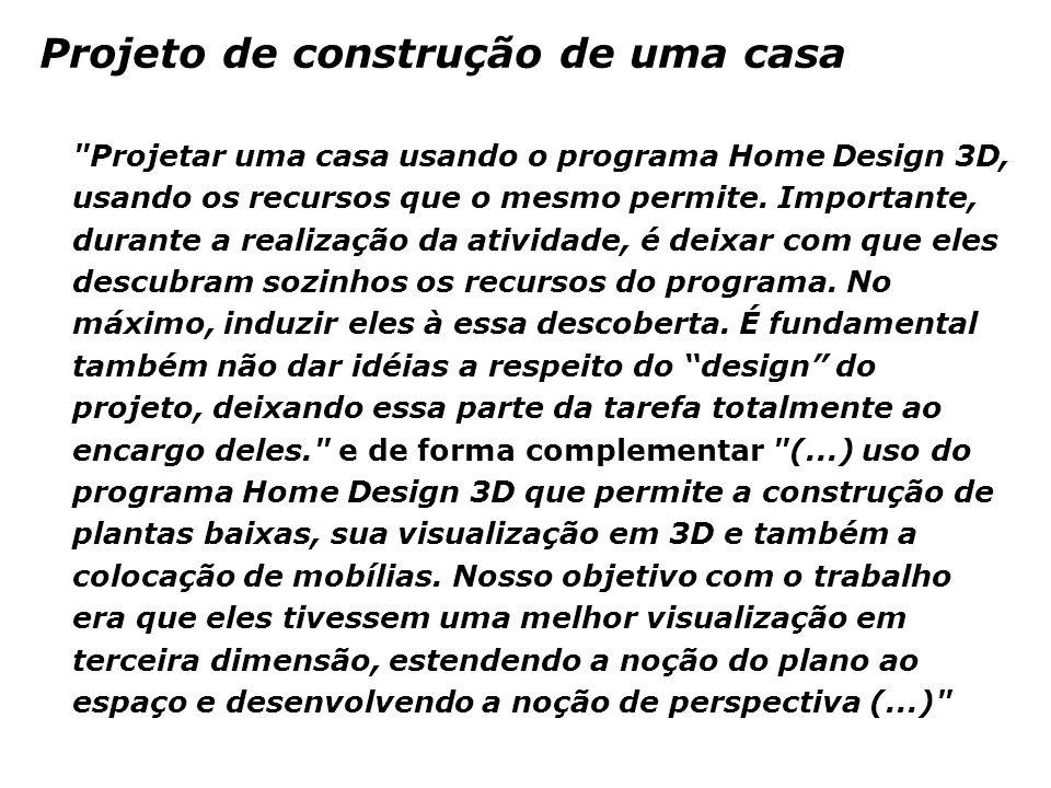 Projeto de construção de uma casa