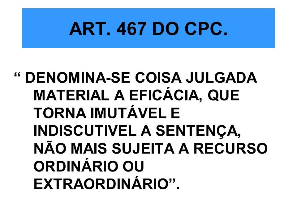 ART. 467 DO CPC.