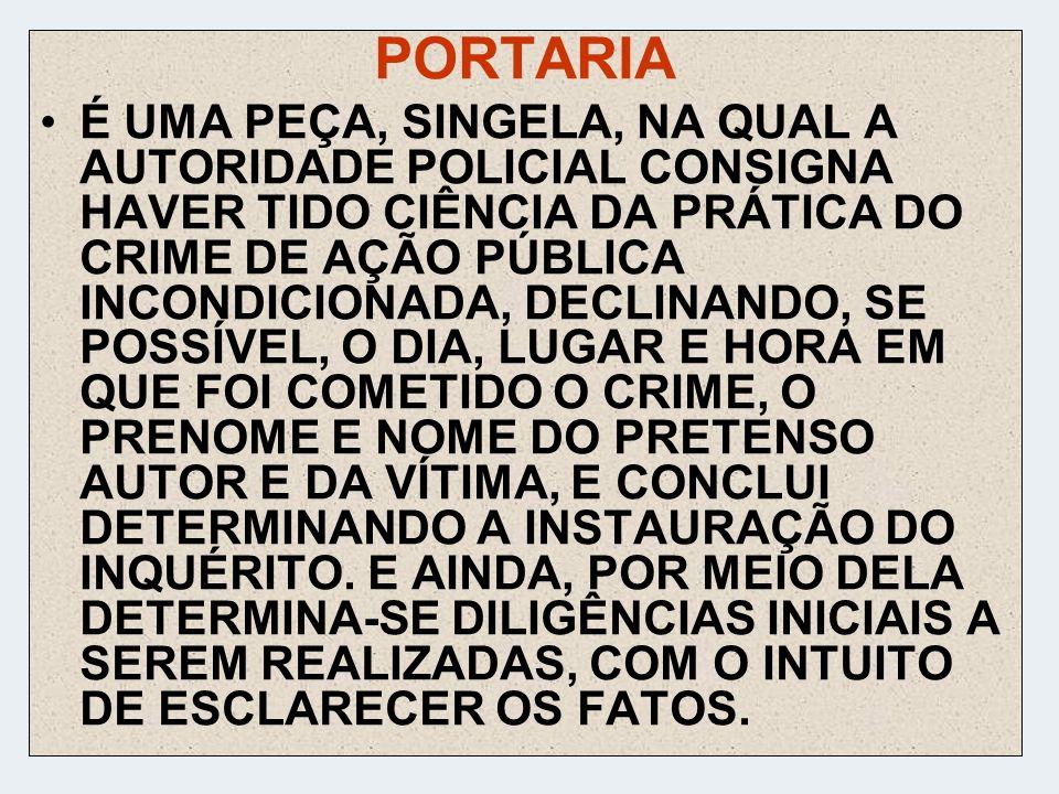 PORTARIA