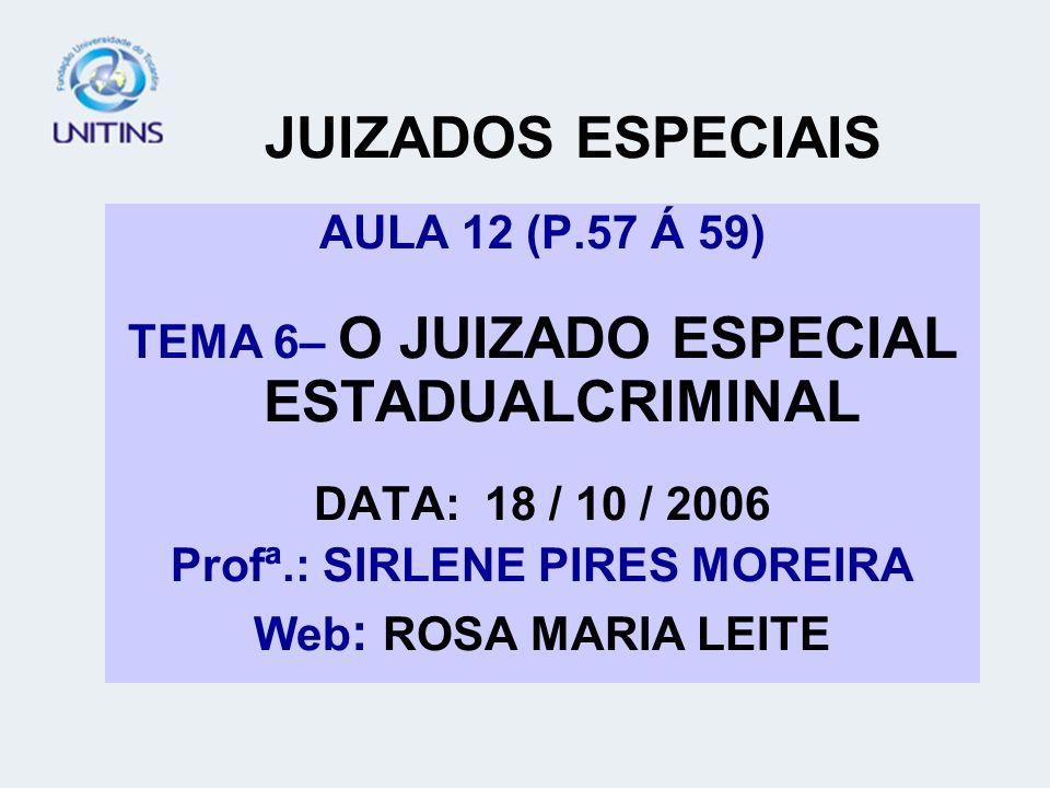 JUIZADOS ESPECIAIS AULA 12 (P.57 Á 59)