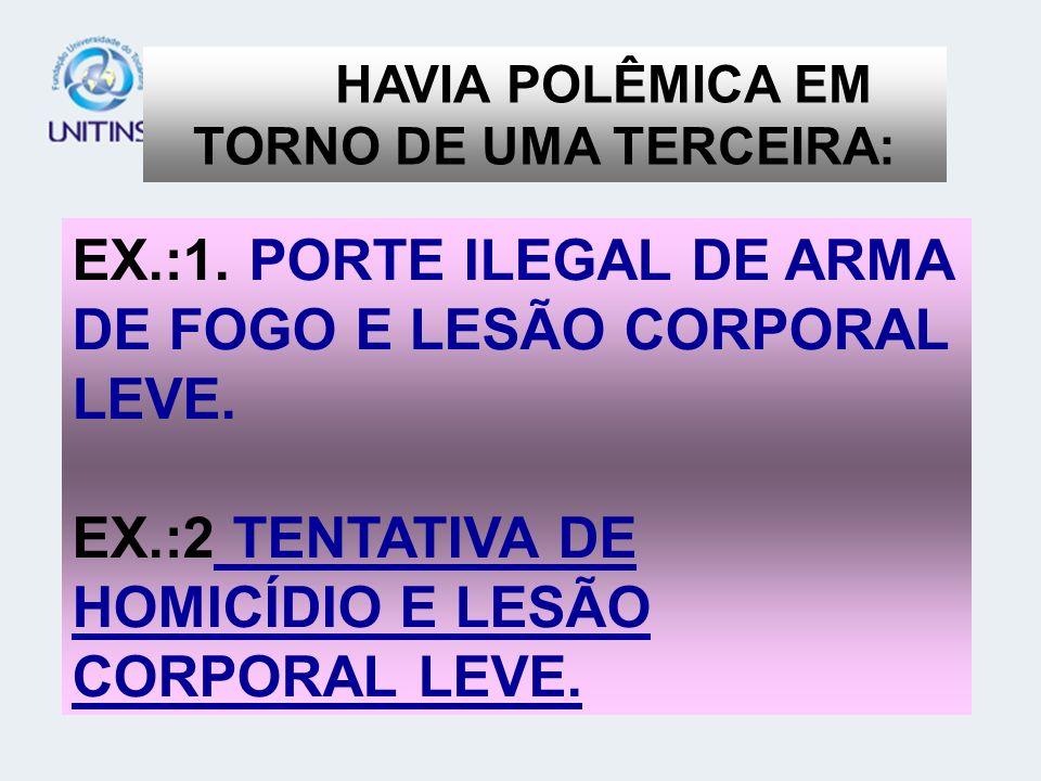 HAVIA POLÊMICA EM TORNO DE UMA TERCEIRA:
