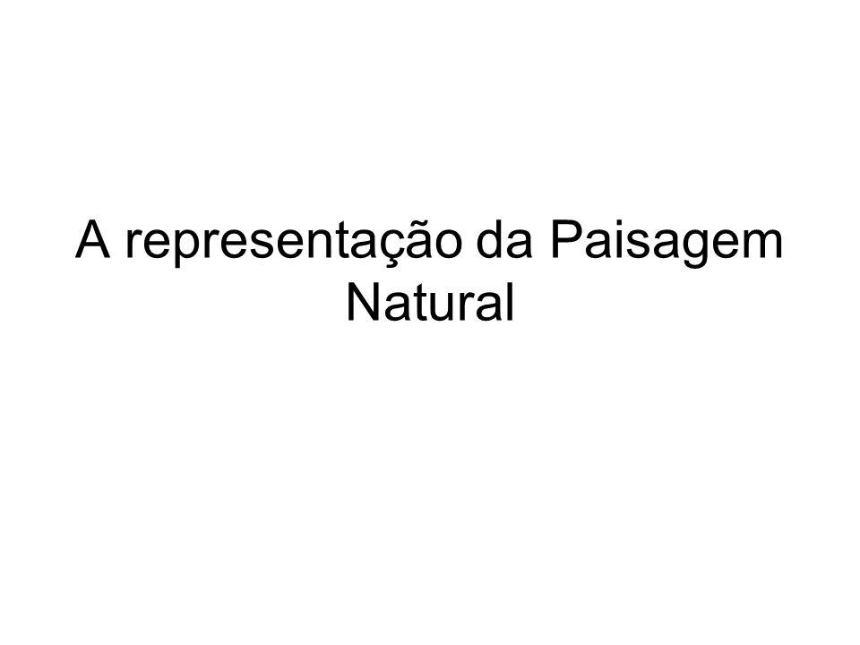 A representação da Paisagem Natural