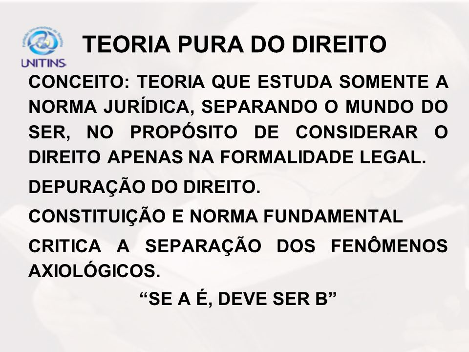 TEORIA PURA DO DIREITO