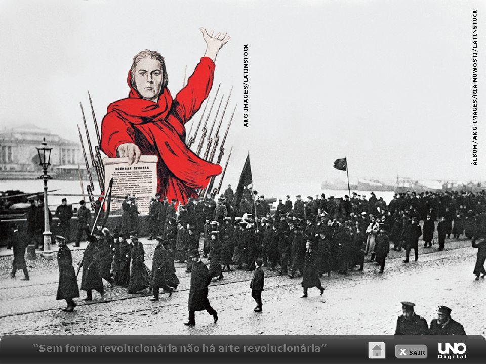 Sem forma revolucionária não há arte revolucionária
