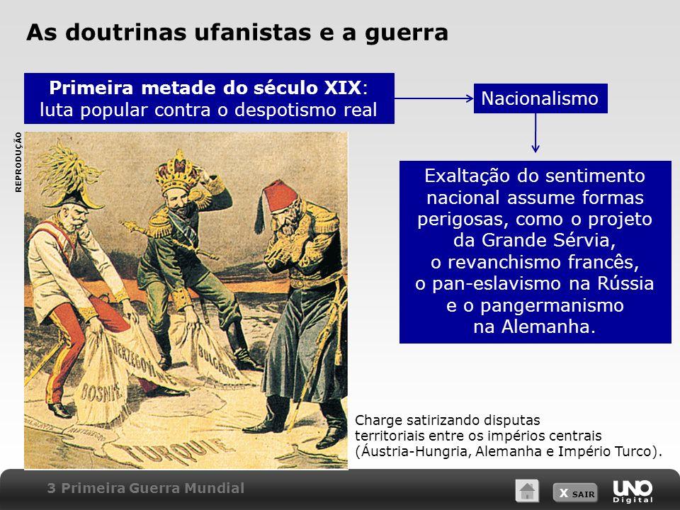 As doutrinas ufanistas e a guerra