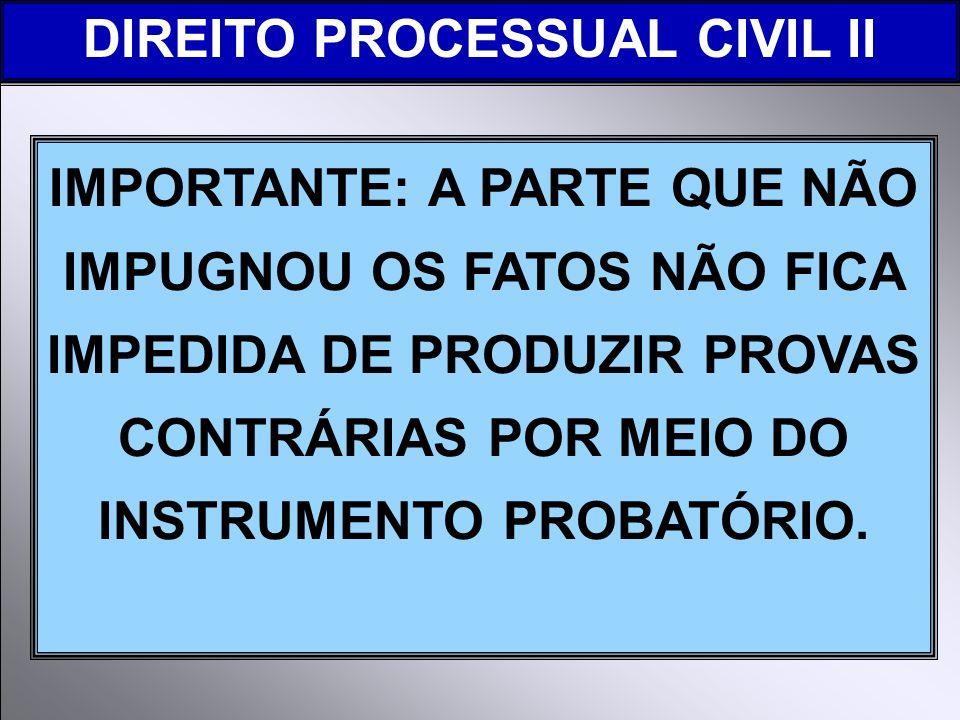DIREITO PROCESSUAL CIVIL II