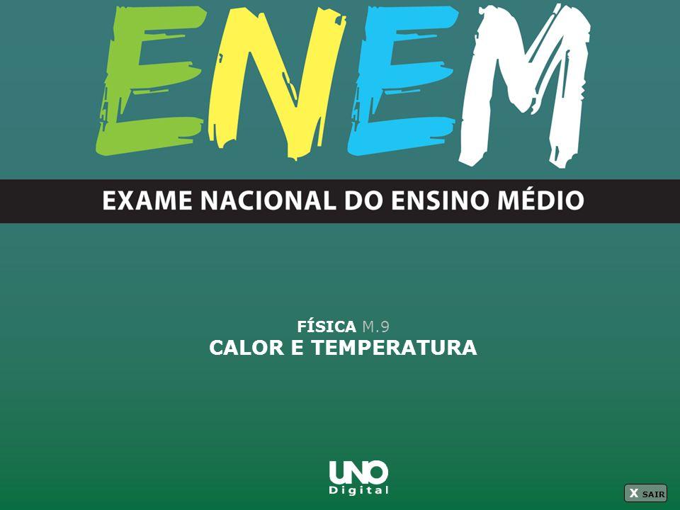 FÍSICA M.9 CALOR E TEMPERATURA X SAIR