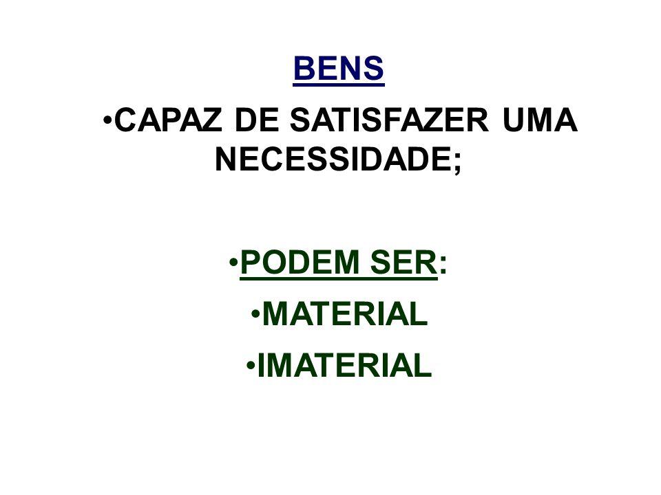CAPAZ DE SATISFAZER UMA NECESSIDADE;