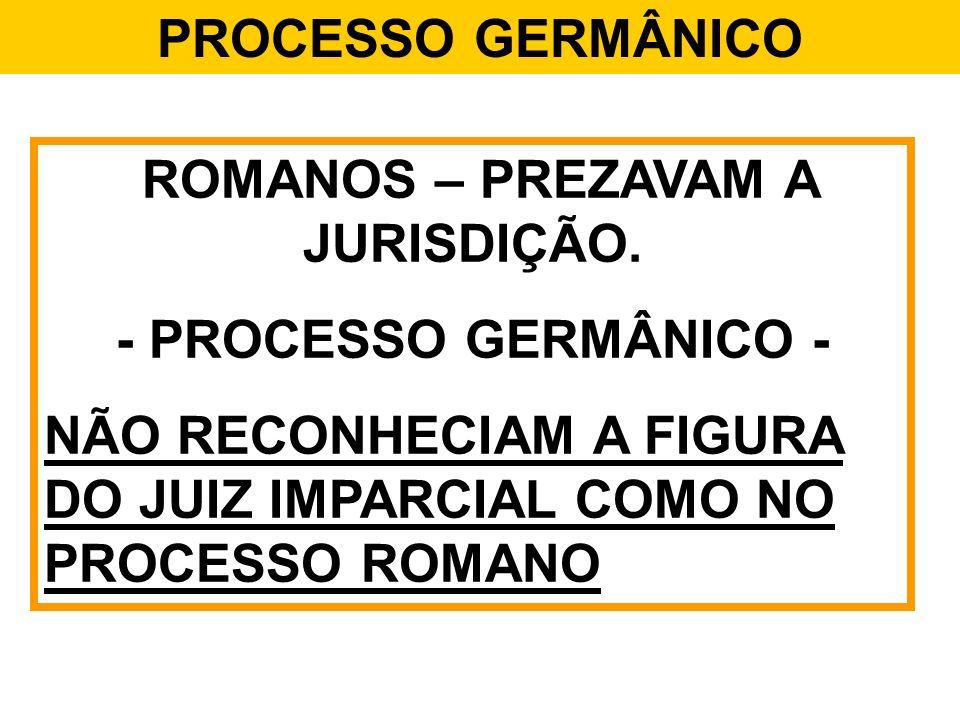 ROMANOS – PREZAVAM A JURISDIÇÃO.