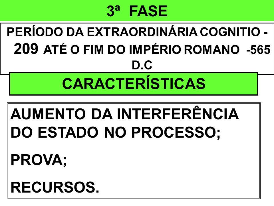 3ª FASE CARACTERÍSTICAS