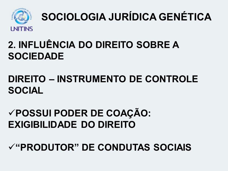 SOCIOLOGIA JURÍDICA GENÉTICA