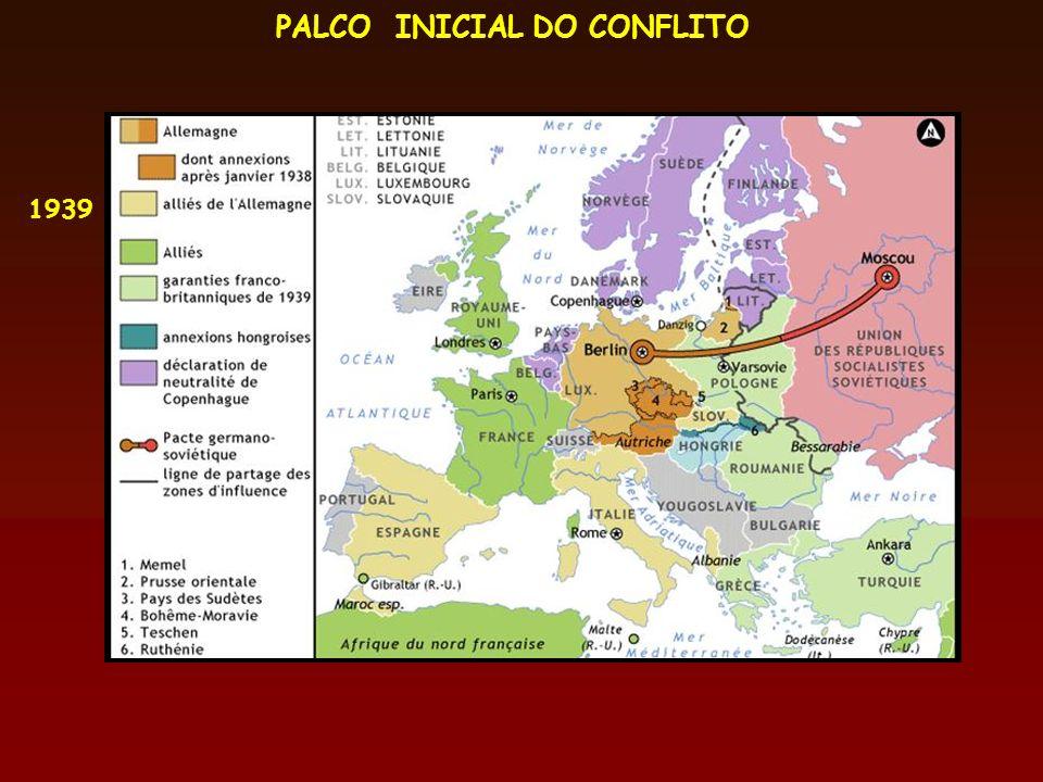 PALCO INICIAL DO CONFLITO