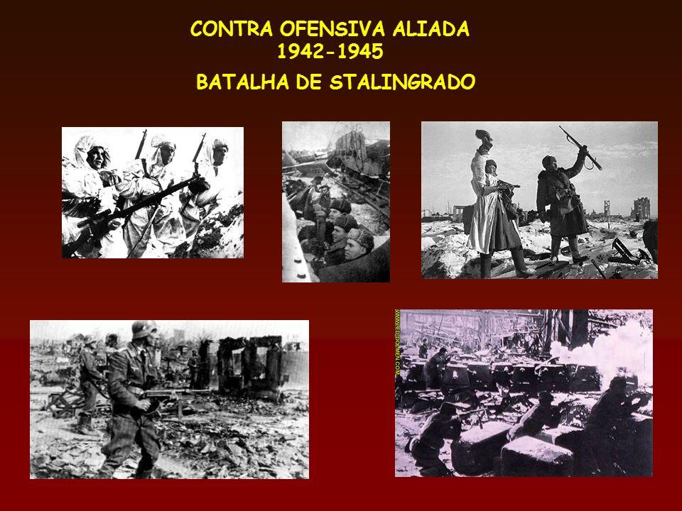 CONTRA OFENSIVA ALIADA BATALHA DE STALINGRADO